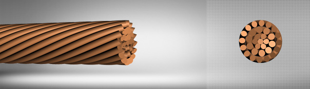 Stranded Copper Conductors for OHL